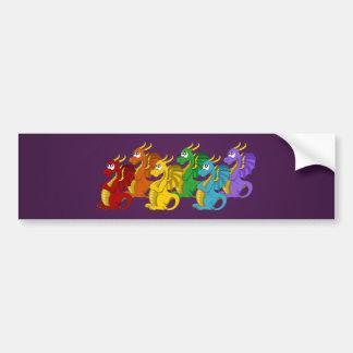 Adesivo Para Carro Bandeira dos desenhos animados dos dragões do