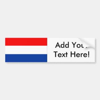 Adesivo Para Carro Bandeira dos Países Baixos