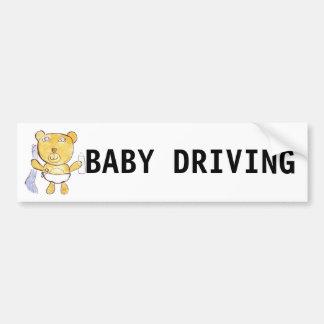 Adesivo Para Carro bebê que conduz o autocolante no vidro traseiro