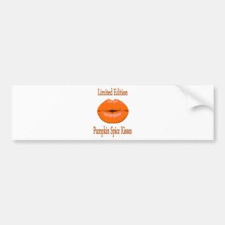Adesivo Para Carro beijos da especiaria da abóbora