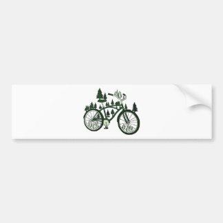 Adesivo Para Carro Bicicleta do pinho