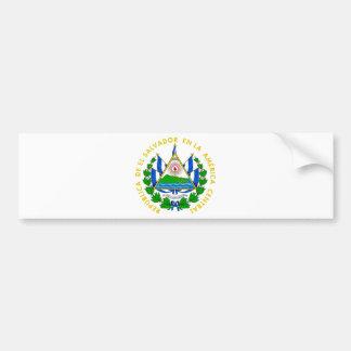 Adesivo Para Carro Brasão de El Salvador