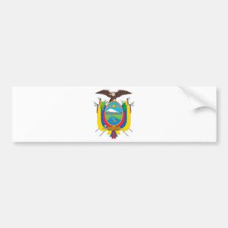 Adesivo Para Carro Brasão de Equador