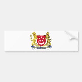 Adesivo Para Carro Brasão do emblema do 新加坡国徽 de Singapore