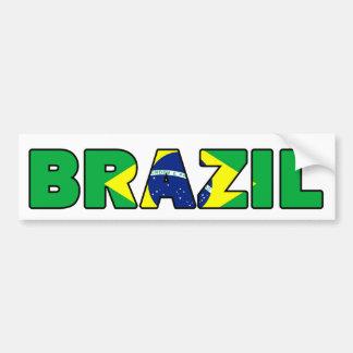Adesivo Para Carro Brasil
