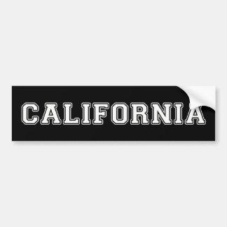 Adesivo Para Carro Califórnia