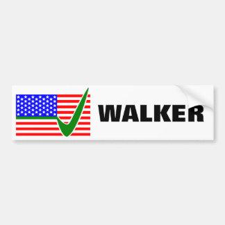 Adesivo Para Carro Caminhante de Scott para a bandeira do presidente