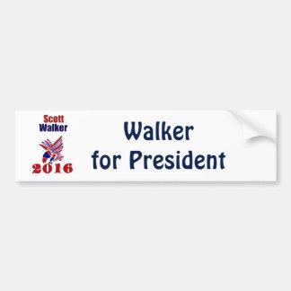 Adesivo Para Carro Caminhante de Scott para o presidente Político