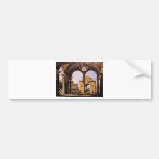 Adesivo Para Carro Capricho de um arco triunfal do renascimento visto