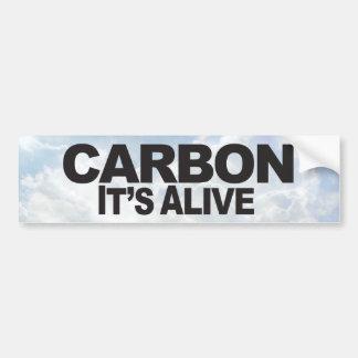 Adesivo Para Carro Carbono - autocolante no vidro traseiro