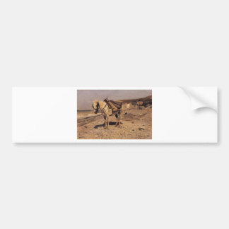 Adesivo Para Carro Cavalo para as pedras que recolhe nos Vela