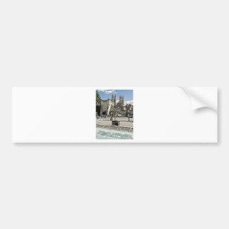 Adesivo Para Carro Cidade do quadrado da exposição de York com a