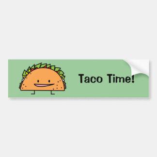 Adesivo Para Carro Comida feliz do mexicano da salsa da carne da