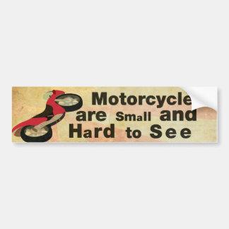 Adesivo Para Carro Consciência da motocicleta