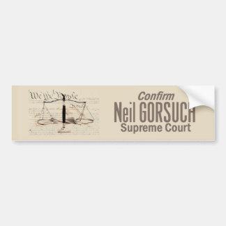 Adesivo Para Carro Corte suprema de Neil GORSUCH