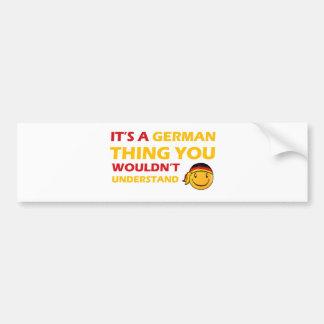 Adesivo Para Carro Design alemão do smiley