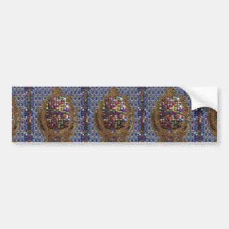 Adesivo Para Carro Egípcio de cristal NY dos azulejos da pedra da