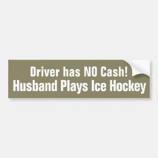 Adesivo Para Carro Engraçado, o marido joga o autocolante no vidro