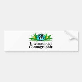 Adesivo Para Carro Engrenagem internacional do logotipo de