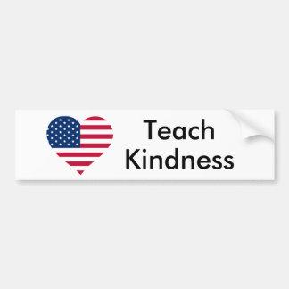 Adesivo Para Carro Ensine os Estados Unidos da bondade