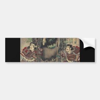 Adesivo Para Carro espada do bushido do ronin que luta o samurai