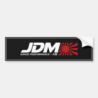 Adesivo Para Carro Etiqueta da batida de JDM