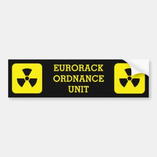 Adesivo Para Carro Etiqueta da unidade da ordenança de Eurorack