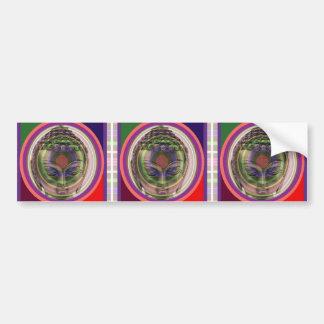 Adesivo Para Carro Etiquetas do retorno BUDDHA dos ímãs dos botões