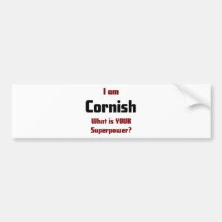 Adesivo Para Carro Eu sou Cornish