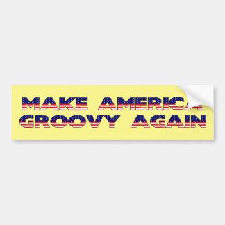 Adesivo Para Carro Faça a América outra vez o autocolante no vidro