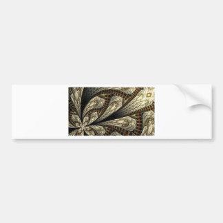 Adesivo Para Carro Fractal floral #2