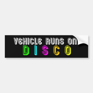 Adesivo Para Carro Funcionamentos do veículo no DISCO