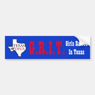 Adesivo Para Carro G.R.I.T. - Meninas aumentadas na DIVA de Texas -