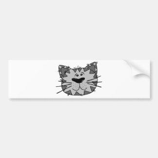 Adesivo Para Carro Gato de beco de sorriso