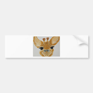 Adesivo Para Carro Girafa de travamento do design do olho moderno na