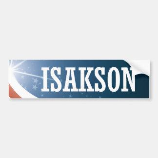 Adesivo Para Carro Johnny Isakson 2016
