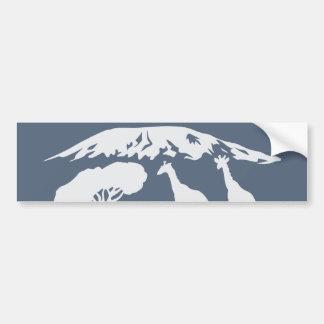 Adesivo Para Carro Kilimanjaro (azul)
