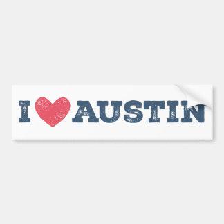 Adesivo Para Carro Mim autocolante no vidro traseiro de Austin Texas