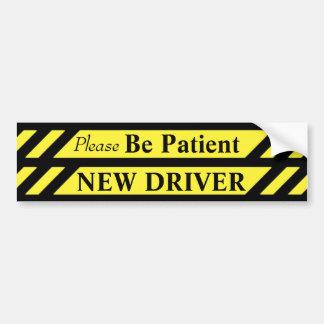 Adesivo Para Carro Motorista novo da paciência