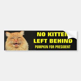 Adesivo Para Carro Nenhum gatinho deixado atrás de corajoso
