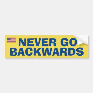 Adesivo Para Carro Nunca vai Backwardss