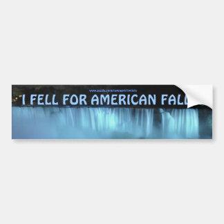 Adesivo Para Carro O americano de Niagara Falls cai na noite