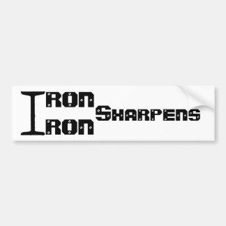 Adesivo Para Carro O ferro Sharpens a etiqueta do ferro
