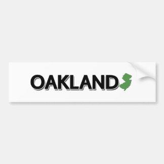Adesivo Para Carro Oakland, New-jersey