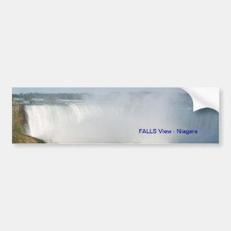 Adesivo Para Carro Opinião das quedas: Niagara EUA Canadá
