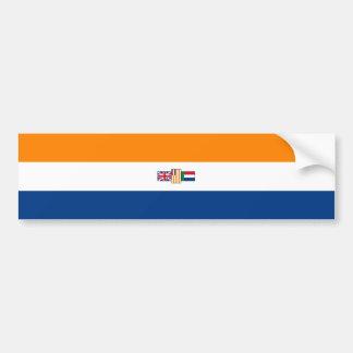 Adesivo Para Carro Oranje Blanje Blou, sul - bandeira africana