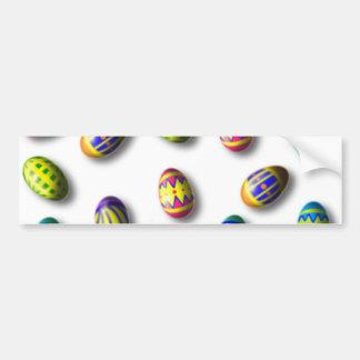 Adesivo Para Carro Ovos da páscoa decorados
