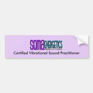 Adesivo Para Carro Pára-choque certificado do médico do som da