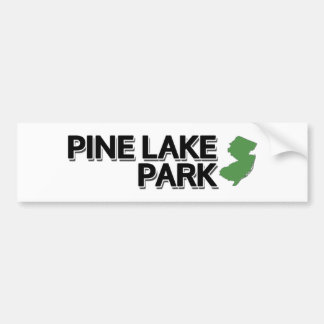 Adesivo Para Carro Parque do lago pine, New-jersey