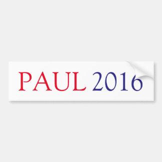 ADESIVO PARA CARRO PAUL 2016